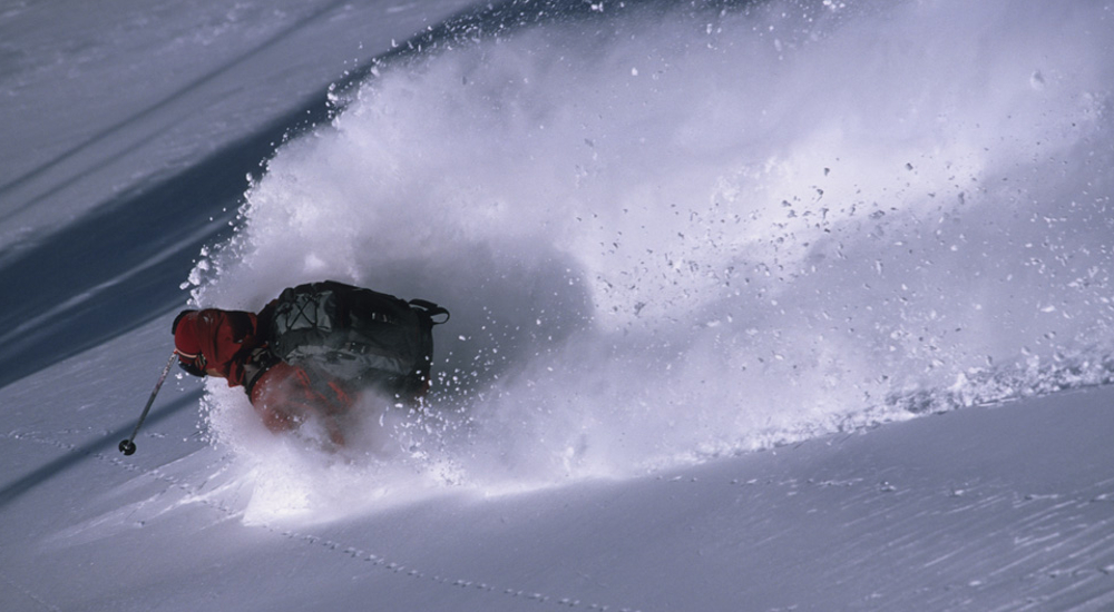 Utah is reknowned for incredible dry powder skiing