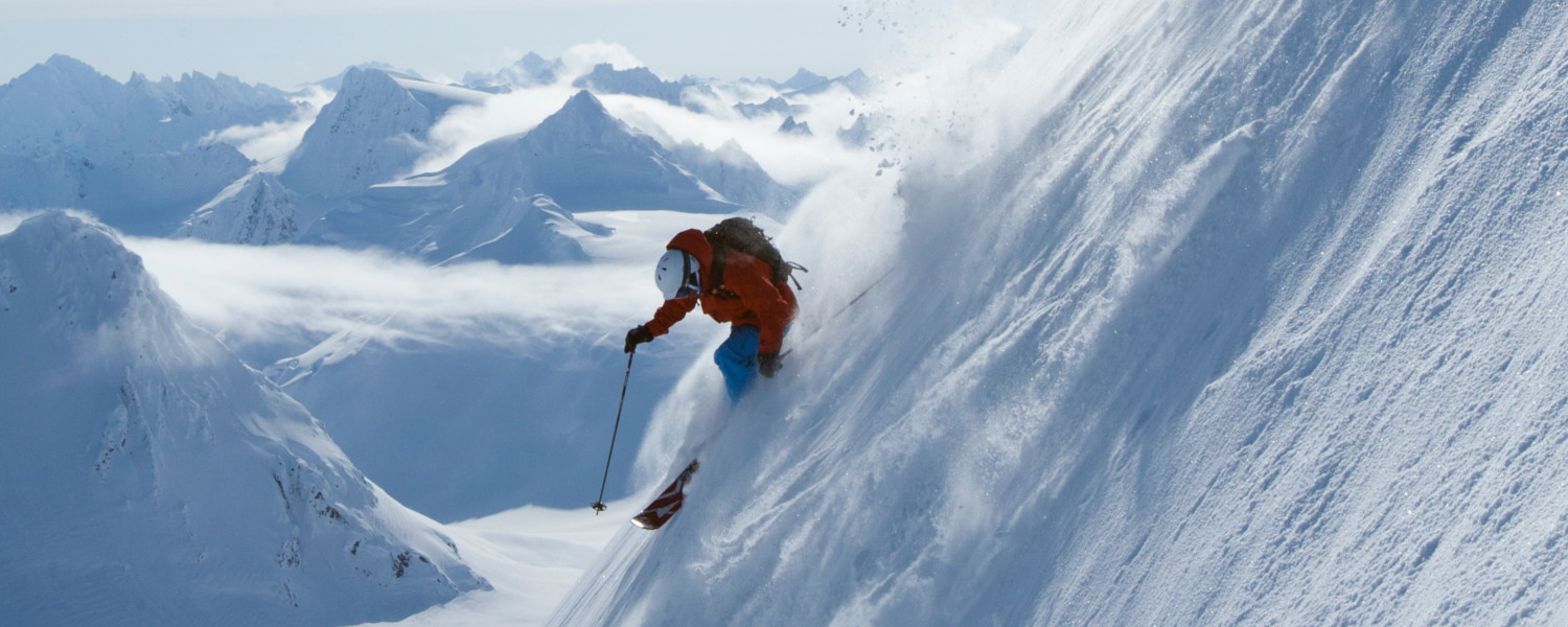 Haines is an epicenter for heli-skiing in Alaska