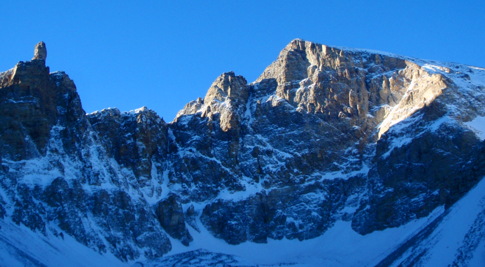 North face of Mt. Wheeler