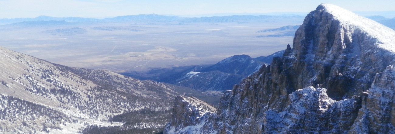 Great Basin National Park, Nevada offers remote wilderness mountaineering objectives