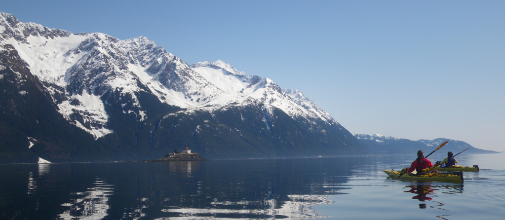 Glassy calm day south of Haines