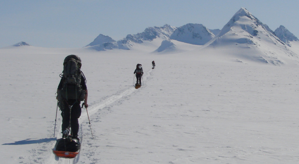 Traversing the icecap