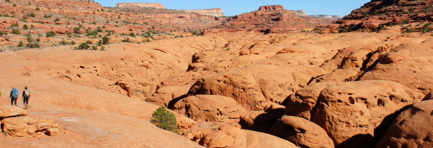 Backpacking and Canyoneering in southern Utah