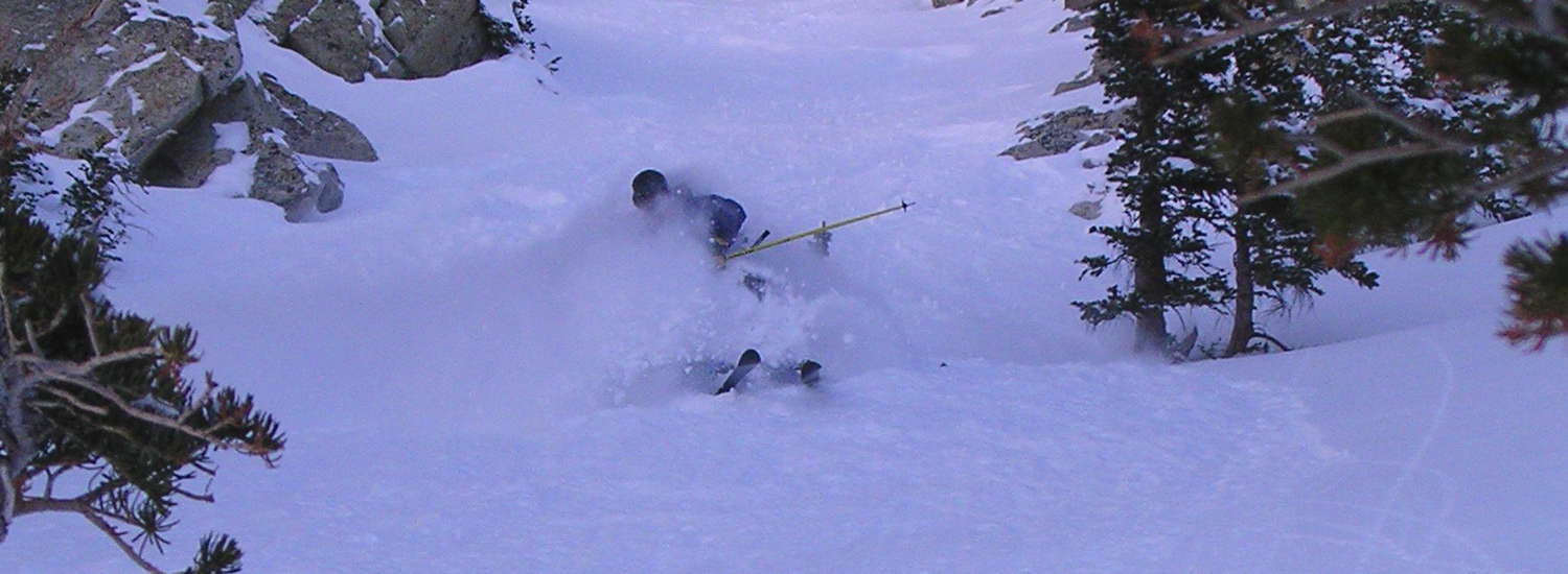 Powder skiing that Utah is famous for