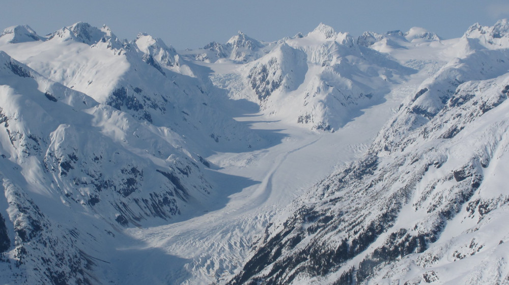 The Ferebee Glacier area offers incredible terrain just a short flight from Skagway