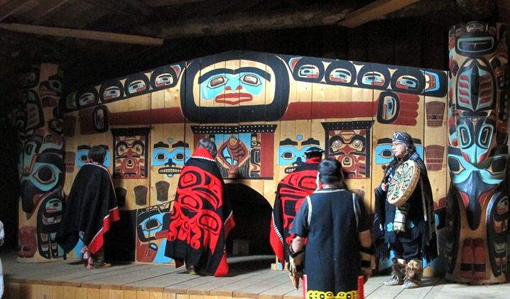 Tlingit dancing and cultural experience at Klukwan