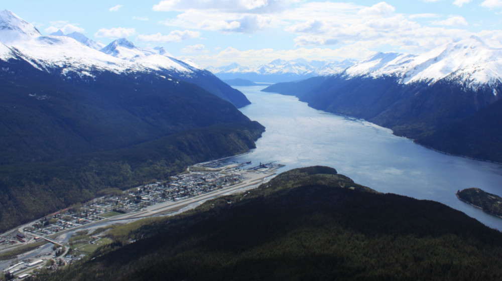 Your trip starts and ends in Skagway, Alaska